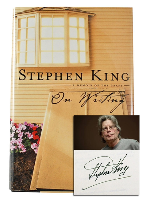 "Stephen King ""On Writing: A Memoir Of The Craft"" Signed First Edition, First Printing [Very Fine]"
