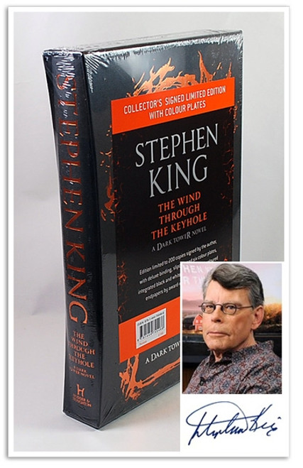 "Stephen King ""The Wind Through The Keyhole"" Signed Limited  Edition of 200 (Sealed)"