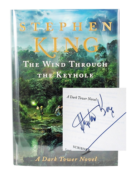 "Stephen King ""The Wind Through The Keyhole"" Signed First Edition Slipcased"