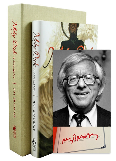 "Ray Bradbury ""Moby Dick"" Deluxe Signed Lettered Edition, ""M"" of 26 in tray-case [Very Fine]"