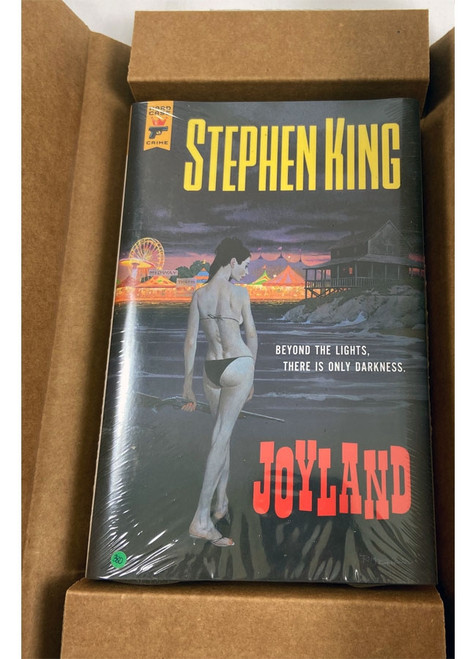 "Stephen King ""Joyland"" Signed Limited First Edition #380 of only 724"