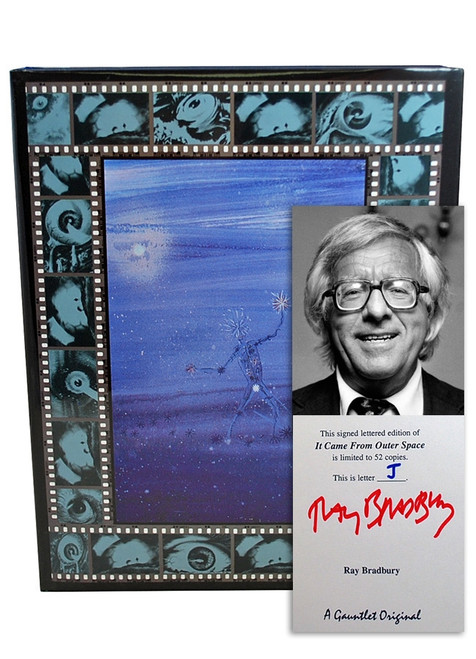 "Ray Bradbury ""It Came From Outer Space"" Deluxe Signed Lettered Edition, ""J"" of 52 in slipcase [Very Fine]"