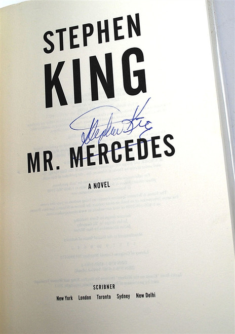 "Stephen King ""Mr. Mercedes"" Signed First Edition 1st/1st w/Slipcase [Very Fine]"