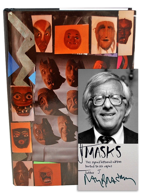 "Ray Bradbury ""MASKS"" Deluxe Signed Lettered Edition, ""J"" of 52 in tray-case [Very Fine]"