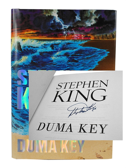 "Stephen King ""Duma Key"" Signed First Edition dj/HC, Near Fine/Fine"