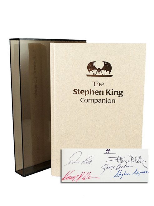 "Amereon Ltd, George Beahm ""Stephen King Companion"" Signed First Edition #99 of only 100 [Very Fine]"