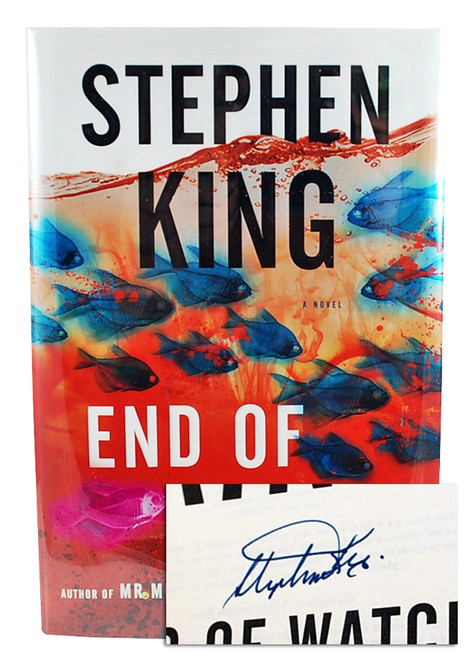 "Stephen King ""End Of Watch"" Signed First Edition dj/HC [Very Fine/Very Fine]"