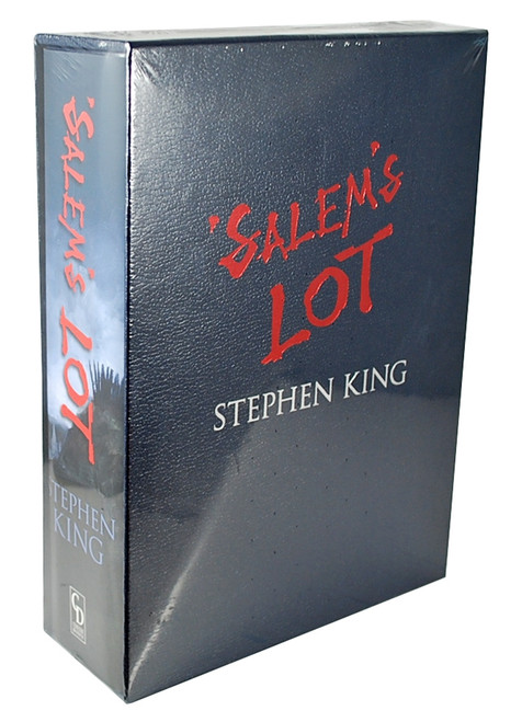"Stephen King ""Salem's Lot"" Deluxe Limited Gift Edition, Slipcased [Sealed]"