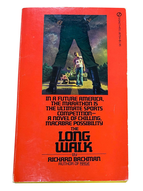 """Stephen King """"The Long Walk"""" First Edition, First Printing, Softcover (writing as Richard Bachman) [NF+]"""
