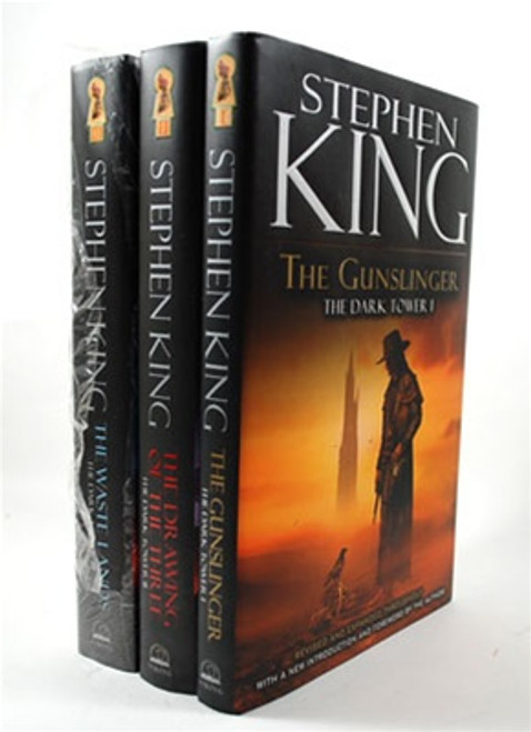 "Stephen King ""The Dark Tower"" Matching Volume Set, Books 1-3. Gift First Editions, Viking Penguin Group"