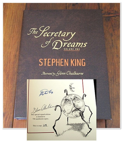 Stephen King Secretary of Dreams Signed First Edition