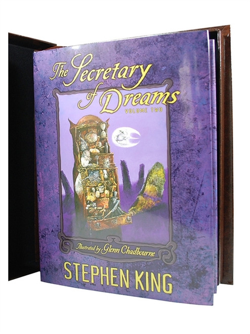 "Stephen King ""Secretary of Dreams"" Volume 2 Signed Limited First Edition"