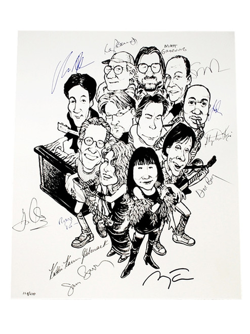 Rock Bottom Remainders - Signed Limited Edition Lithograph #109 of 270 (Very Fine)
