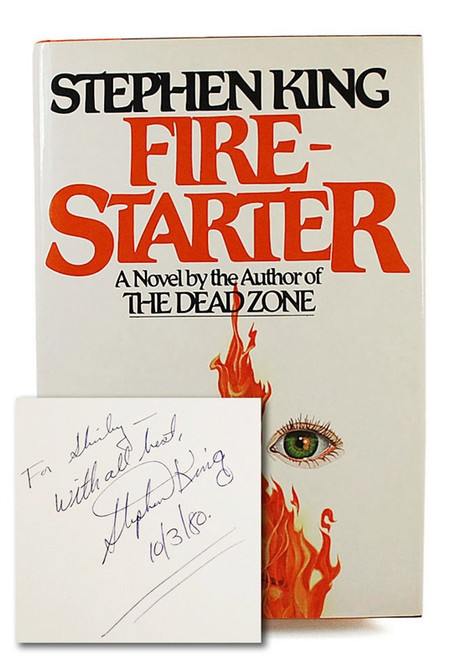 "Stephen King ""Firestarter"" Signed First Edition, First Printing, Fine/Fine"