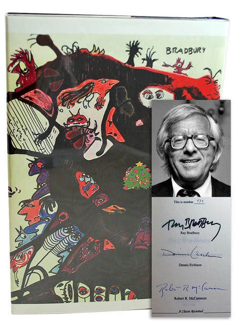 "Ray Bradbury ""The October Country - The 40th Anniversary Edition"" Signed Limited Edition, 439 of 500 in slipcase [Very Fine]"