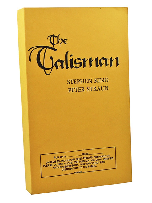 Stephen King Talisman Signed Limited