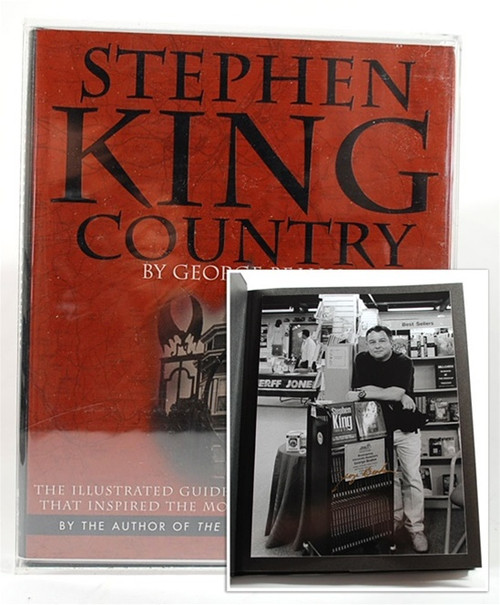 "George Beahm ""Stephen King Country"" Signed Limited Lettered Edition ""W"" Fine/Fine"