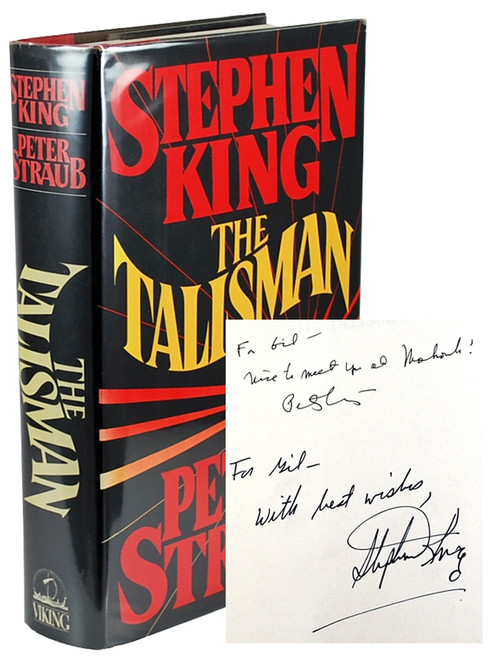 "Stephen King, Peter Straub ""The Talisman"" Double Signed First Edition"
