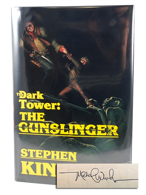 "Stephen King, ""Dark Tower: The Gunslinger"" dj/HC First Edition"