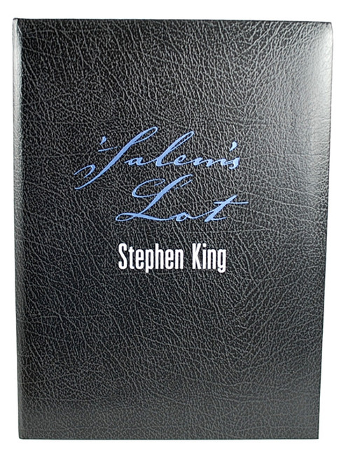 "Stephen King ""Salem's Lot"" Deluxe Limited Signed Edition, Traycased"