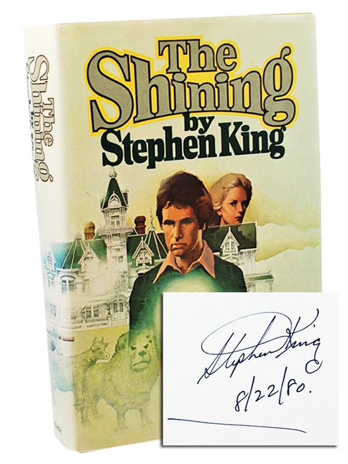 Stephen King The Shining Signed First Edition