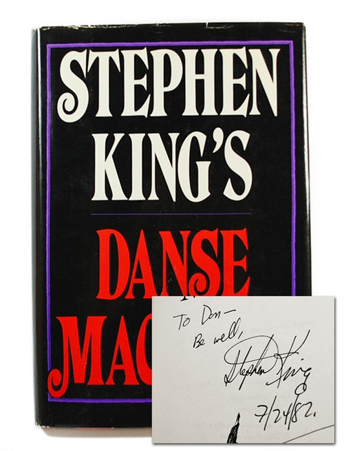 "Stephen King ""Danse Macabre"" Signed First Edition (Fine/Near Fine)"