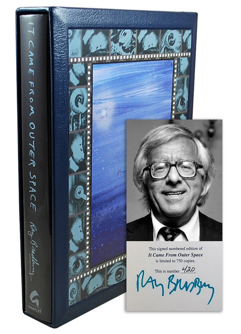 "Ray Bradbury ""It Came From Outer Space"" Signed Limited Edition, 420 of 750, in slipcase [Very Fine]"