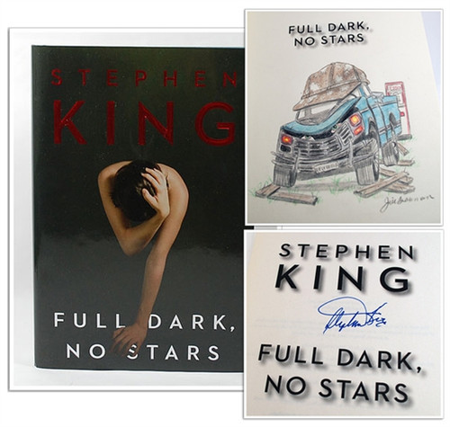"Stephen King ""Full Dark, No Stars"" Signed First Edition, First Printing w/ Artist Remaque by Jill Bauman (Fine/Fine)"