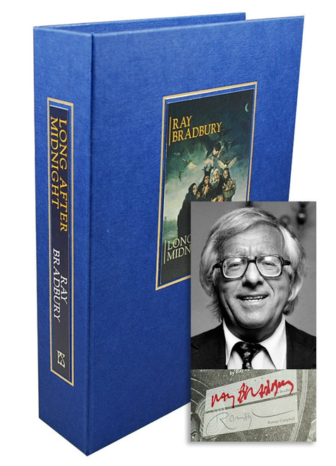"Ray Bradbury ""Long After Midnight"" Signed Limited Edition, 95 of 100, in tray-case [Very Fine]"