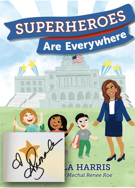 "Kamala Harris ""Superheroes Are Everywhere"" Signed First Edition"