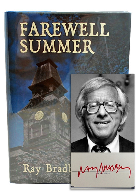 "Ray Bradbury ""Farewell Summer"" Signed Limited Edition, 192 of 250 Slipcased [Very Fine]"
