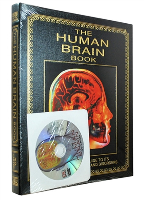 "Easton Press ""The Human Brain Book"" Rita Carter, Deluxe Limited Leather Bound Collector's Edition w/DVD [Sealed]"