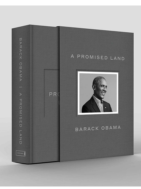 "Barack Obama ""A Promised Land"" Signed Deluxe Limited Edition, Slipcased [Sealed]"