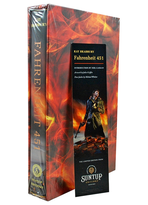 "Suntup Press - Ray Bradbury ""Fahrenheit 451"" Signed Limited Artist Gift Edition of 1,000 [Sealed]"
