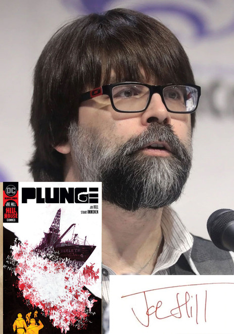 "Joe Hill, Stuart Immonen ""PLUNGE"" Slipcased Signed Collector's  Edition w/COA, Inscribed To You By Joe Hill  [Very Fine]"