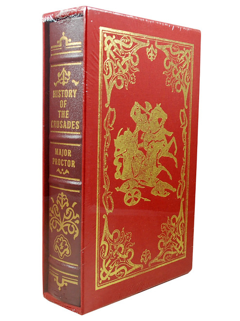 "Major Proctor ""History Of The Crusades"" Limited Edition, Leather Bound Collector's Edition of only 600, Slipcased [Sealed]"
