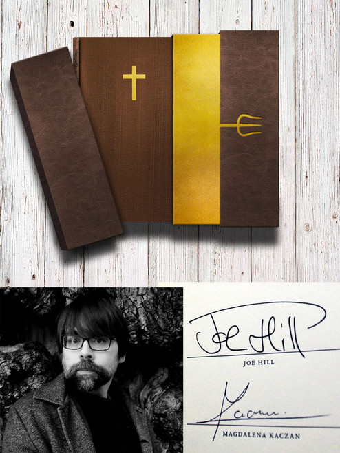"Joe Hill ""Horns"" Signed Limited Edition No. 90  of 250 w/Limited Promotional Art Kit [Very Fine]"