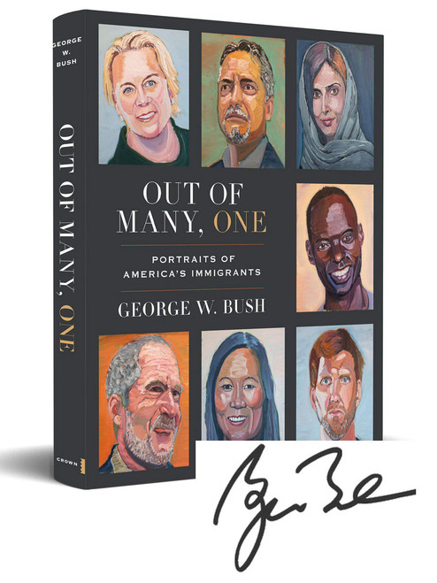 "George W. Bush ""Out Of Many, One"" Signed First Edition, First Printing, Limited Slipcased Collector's Edition of 100 w/COA [Sealed]"