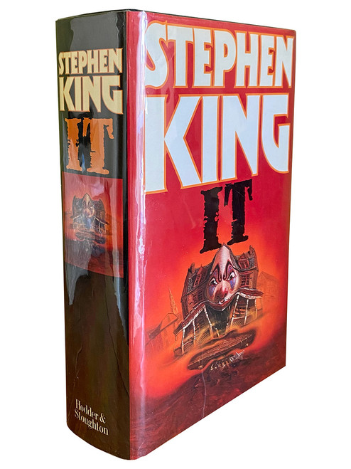 "Stephen King ""IT"" UK First Edition, First Printing 1986 [NF/Fine]"