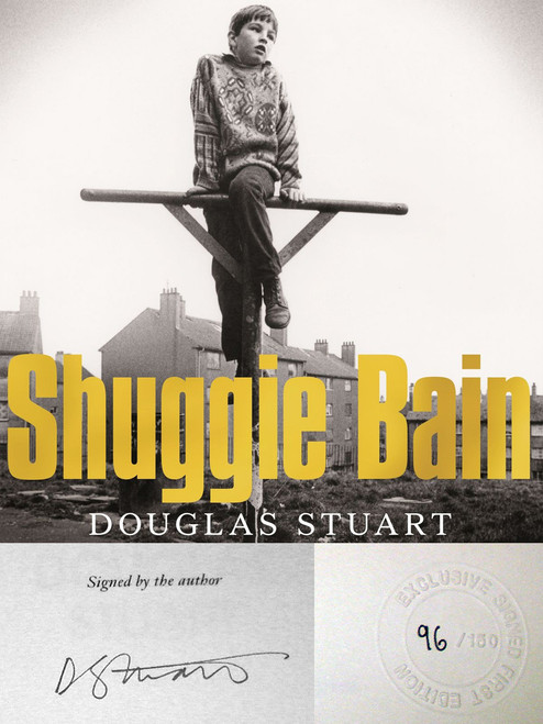 "Goldsboro Edition, Douglas Stuart ""Shuggie Bain: A Novel"" Signed Limited First Edition No. 96 of 150 [Very Fine]"