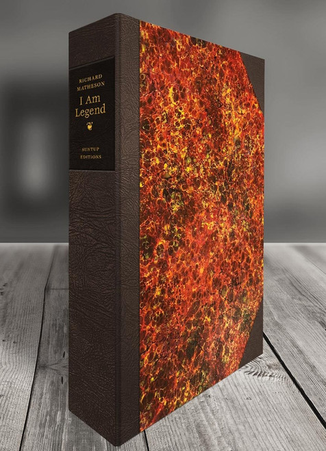 "Richard Matheson ""I Am Legend"" Signed Lettered Edition of only 26, Leather Bound Collector's Edition [Very Fine]"