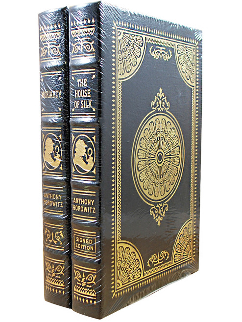 "Anthony Horowitz ""The House of Silk"", ""Moriarty"" Signed Limited Edition, 2-Vol Matching Collector's Set w/COA [Sealed]"