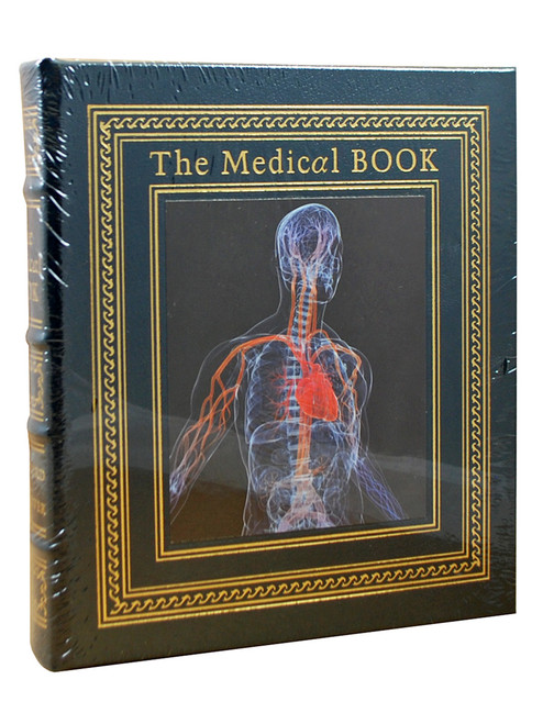 "Clifford A. Pickover ""The Medical Book"" Deluxe Limited Edition, Leather Bound Collector's Edition [Sealed]"
