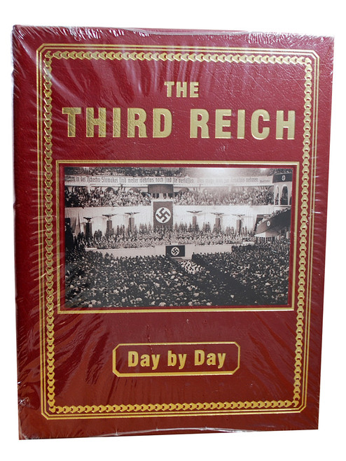 """Christopher Ailsby """"Third Reich"""" Deluxe Limited Edition, Leather Bound Collector's Edition [Sealed]"""