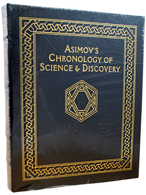 """Isaac Asimov """"Asimov's Chronology of Science & Discovery"""" Deluxe Limited Edition, Leather Bound Collector's Edition [Sealed]"""