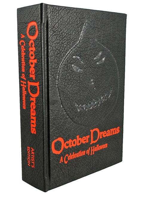 "Cemetery Dance ""OCTOBER DREAMS"" Signed Artist Edition AE, Limited to only 30 [Very Fine]"