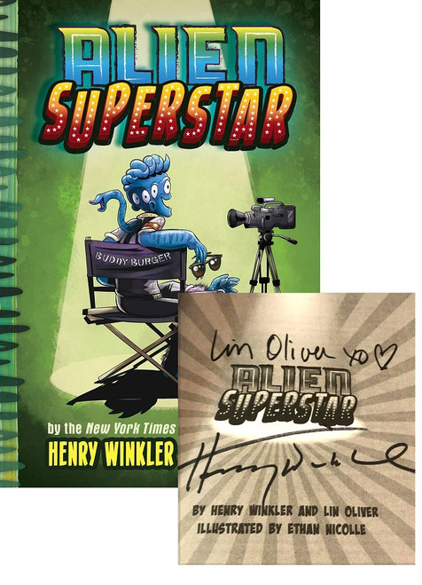 "[PRE-ORDER] Henry Winkler ""Alien Superstar"" Signed First Edition [Very Fine]"