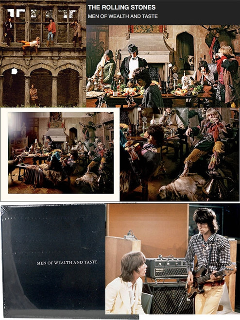 """""""The Rolling Stones: Men Of Wealth and Taste"""" Signed Limited Edition No.15/200 [Sealed]"""