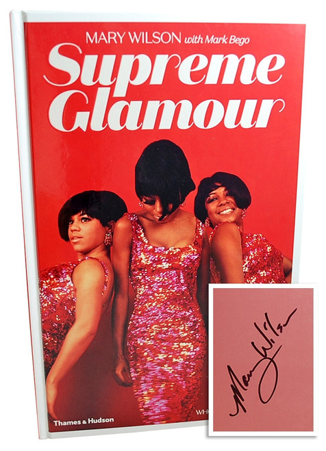 """Supreme Glamour"" Mary Wilson Signed First Edition"