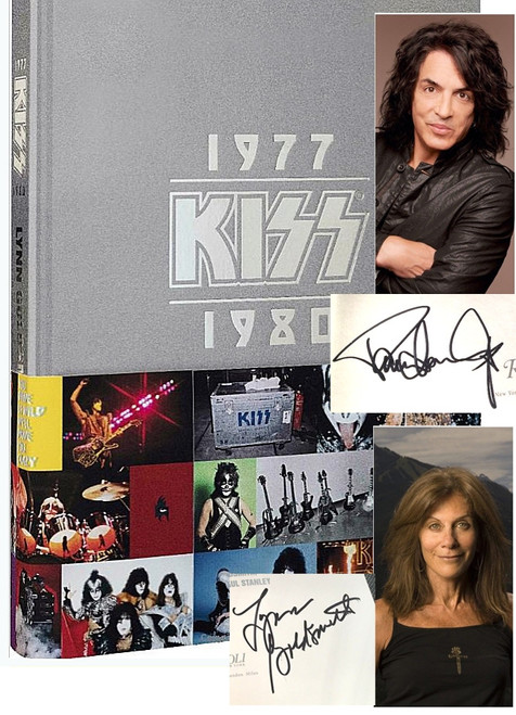 "Gene Simmons, Paul Stanley, Lynn Goldsmith ""KISS: 1970-1980"" Signed First Edition [Very Fine]"